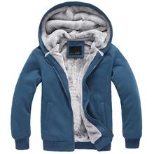 Buy Autumn/Winter Men Jacket Men Plus Velvet Casual Hooded Outerwear Coat Male Thickening Fleece Street Casual Hoodies Sweatershirt for $29.25 in AliExpress store