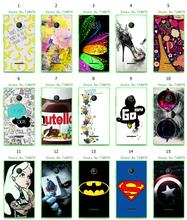 colorful 15designs flowers nutella bad mickey hybrid retail white hard mobile phone bag&cases for Nokia Lumia 435 N435 free ship