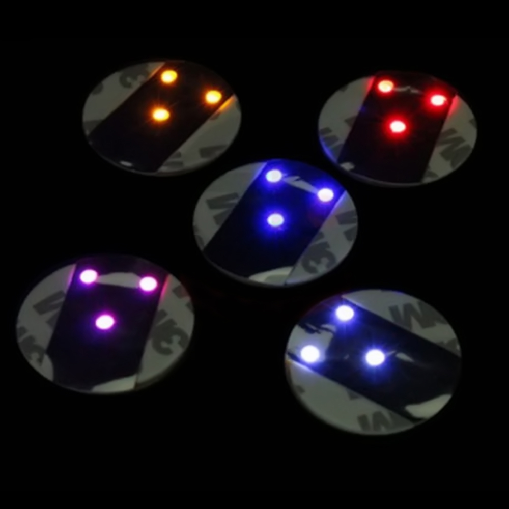 Top Quality LED Flashing Light Bulb Bottle Cup Mat Coaster For Club Ba Party Gift(China (Mainland))