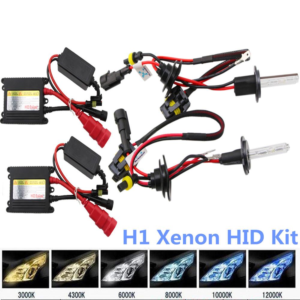 H1 35w 12v HID Xenon Kit HID Bulb Light Kit 4300K 6000K 10000K Low and Hi Beam Parking Light Fog Light Headlight 1 Pair For Ford(China (Mainland))