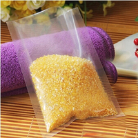 9*13cm  100pcs/lot Clear vacuum food bags food-grade plastic bags