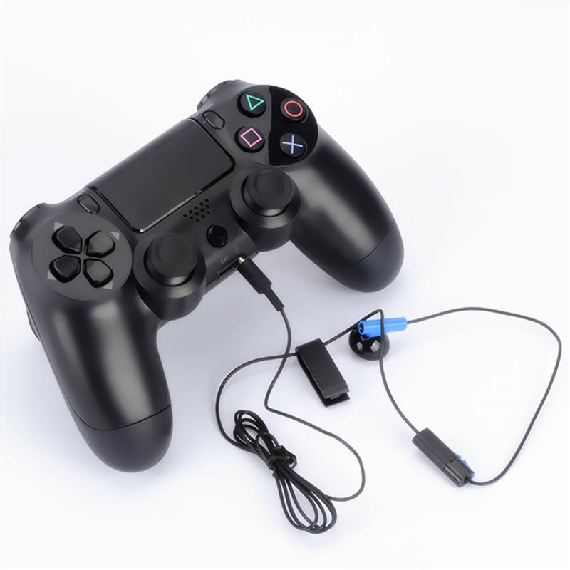 Hot Selling 120cm 3.5mm Jack Gaming Controller Headset Earphone With MIC ON/OFF Control For Sony For PS4 Play Headphone