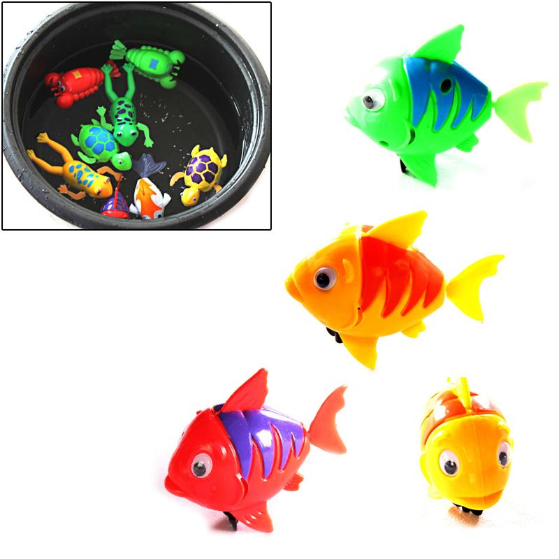 Гаджет  Cute Funny Wind-Up Clockwork Bath Toys Animals etc Baby Shower Swimming Pool For Baby/Kids Gift Randomly None Игрушки и Хобби
