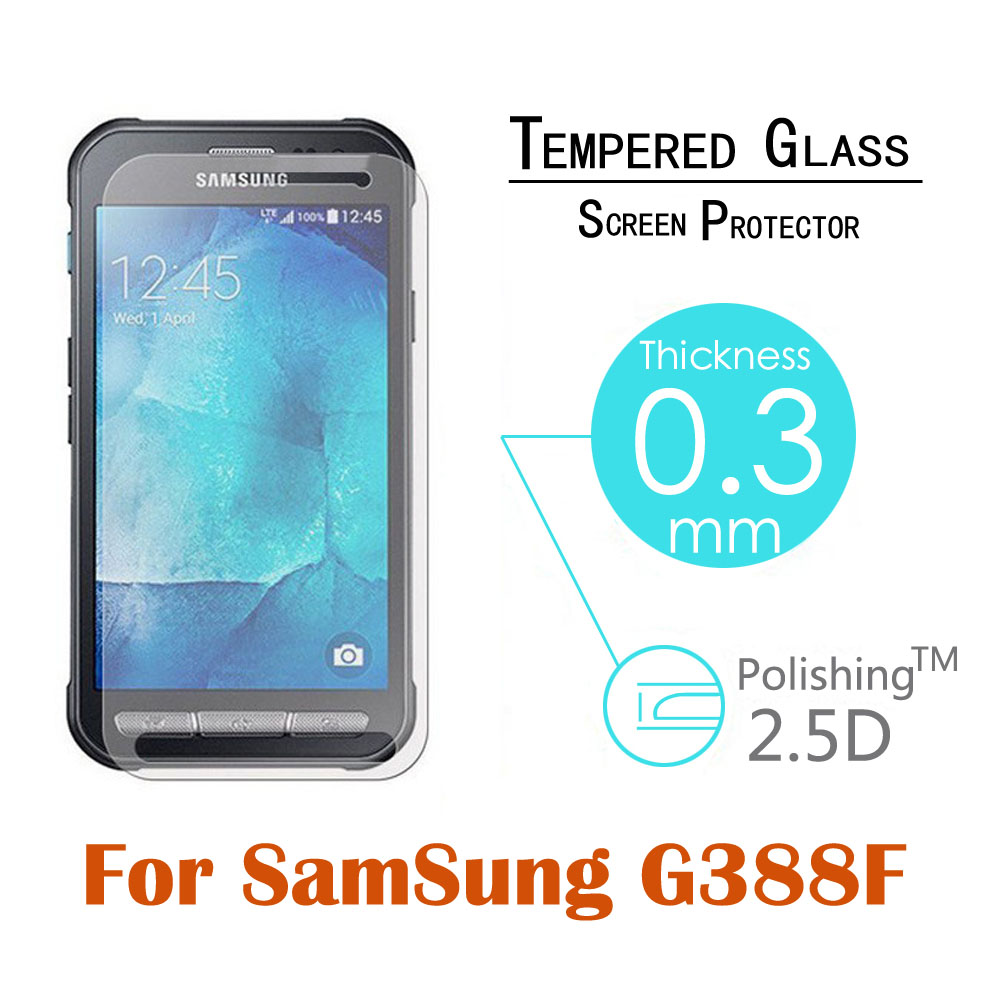 0 3mm 9H 2 5D Explosion Proof Toughened Tempered Glass For Samsung Galaxy Xcover 3 G388F