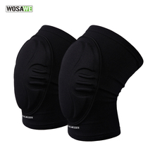 Buy WOSAWE Two Pieces Skiing oalkeeper Soccer Football Volleyball Extreme Sports knee pads Protect Cycling Knee Protector Kneepad for $12.54 in AliExpress store