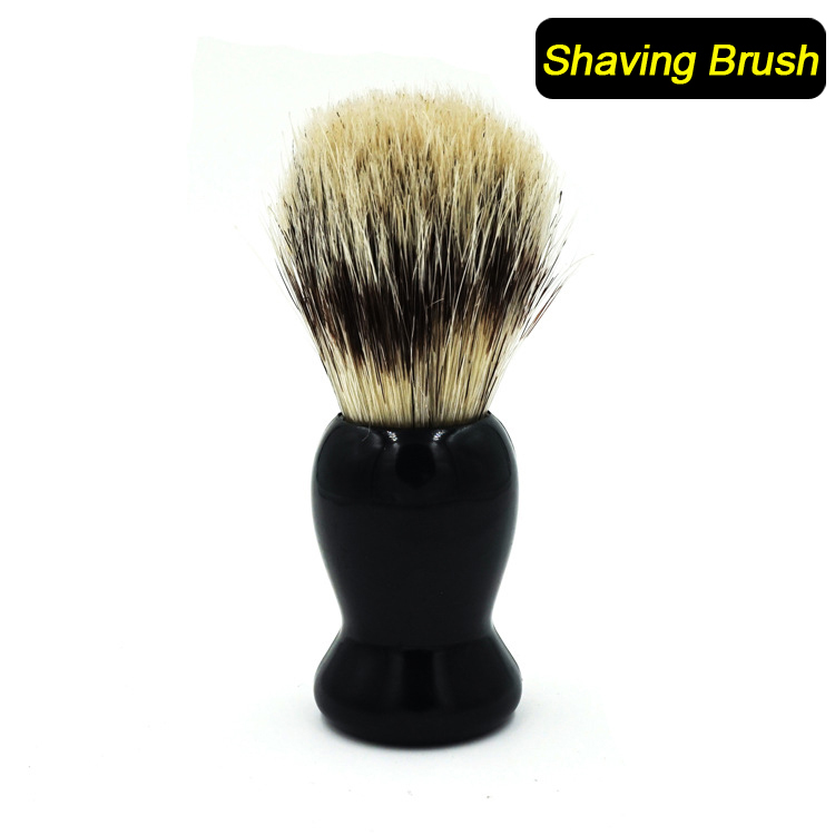 badger black single men Akstore men's durable shave soap cup shining high quality double layer stainless steel heat insulation smooth shaving mug bowl not as coarse as black badger.