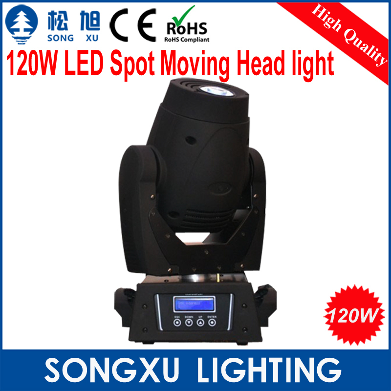 Professional 120W LED Moving Head Spot Light for Stage Theater Disco Nightclub Party/SX-MH120(China (Mainland))