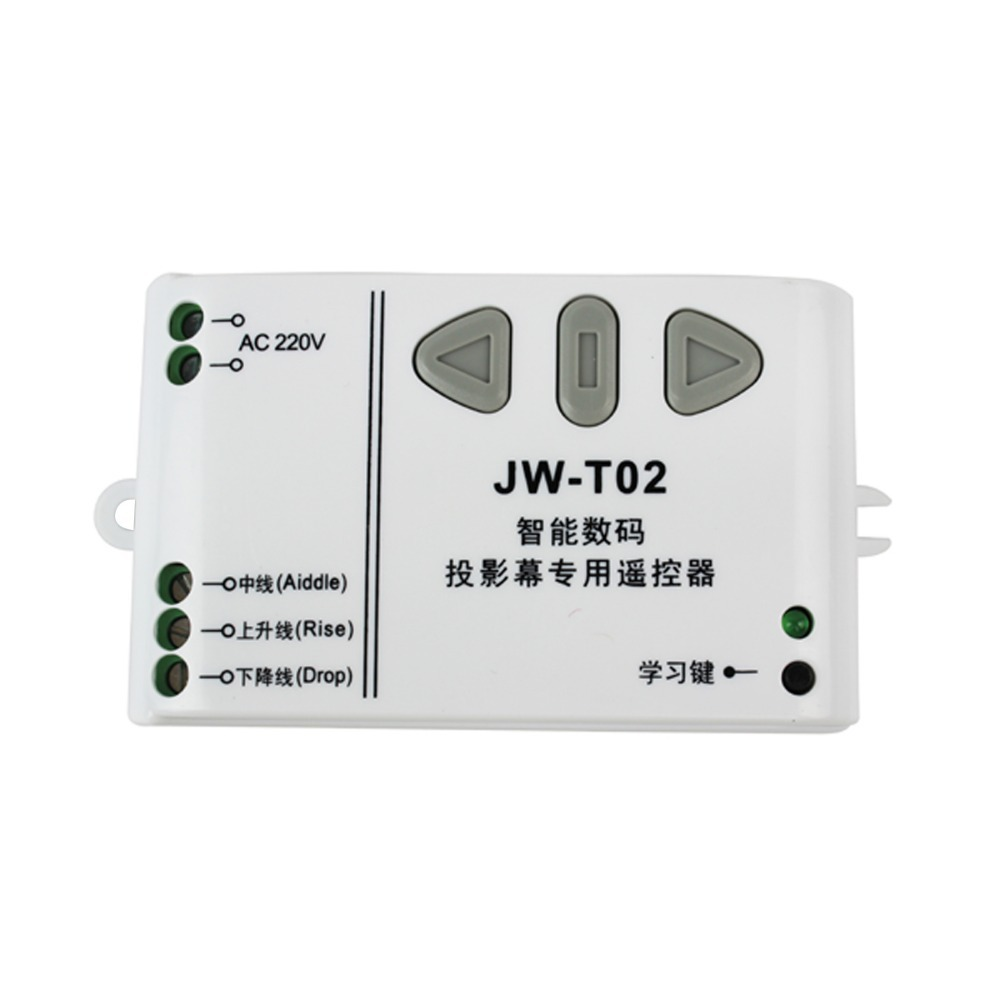 Гаджет  Projection Screen Wireless Remote Controller&Receiving Controller JW-T02 315MHz F3012B315 None Безопасность и защита