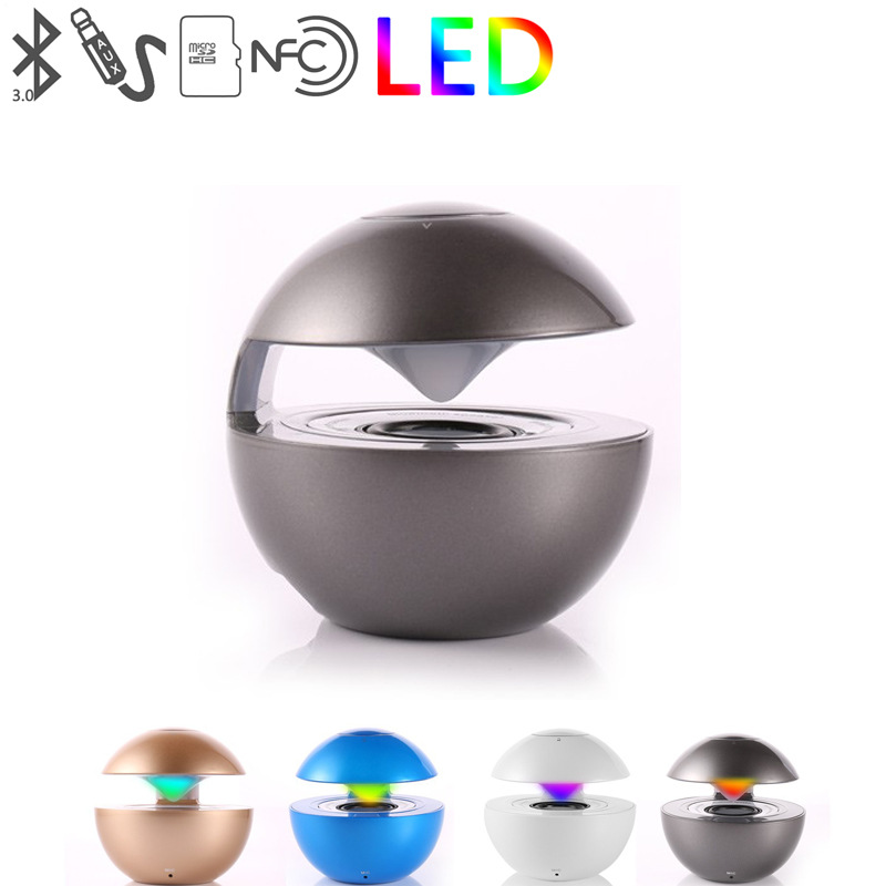 BT118 wireless Bluetooth speaker outdoor portable mini card touch light small audio subwoofer(China (Mainland))