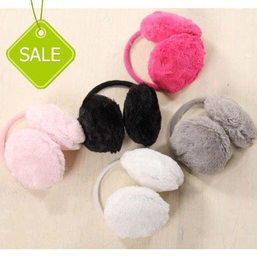 HOT! Autumn Winter Rabbit Plush  Warm  Ear Cover  Earmuffs for girls 10 color 10pcs/lot Free Shipping