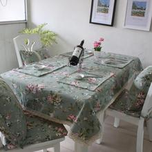 Pastoral style printing Tablecloth dining table mat coffee tea table tablecloth bar restaurant decoration home decor AU240(China (Mainland))