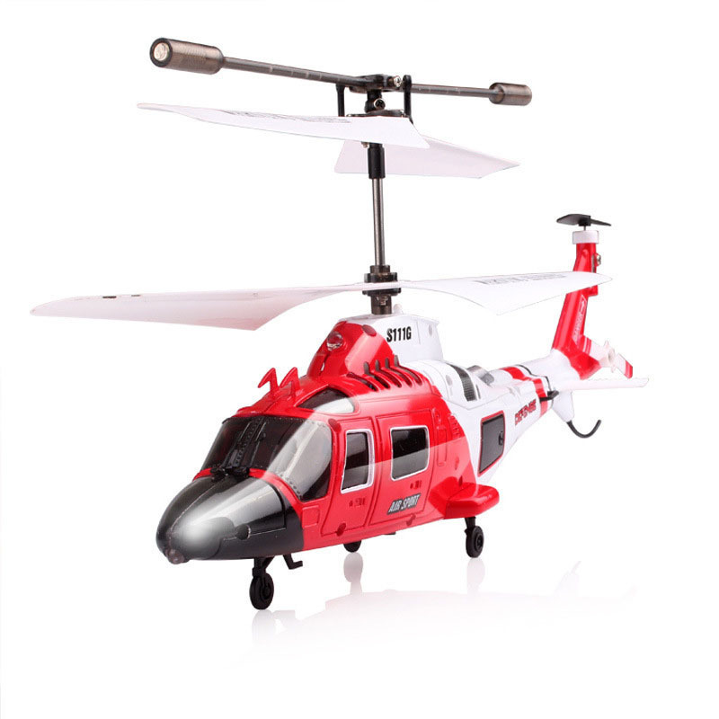 Syma S111G Mini Coast Guard Rescue 3.5CH Indoor RC Helicopter with Gyro freeshipping wholesale(China (Mainland))