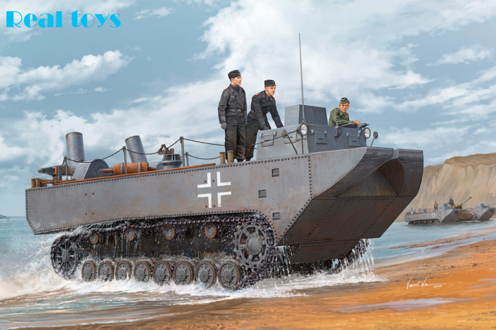 Hobby Boss model 82461 1 35 German Land Wasser Schlepper II Prototype plastic model kit