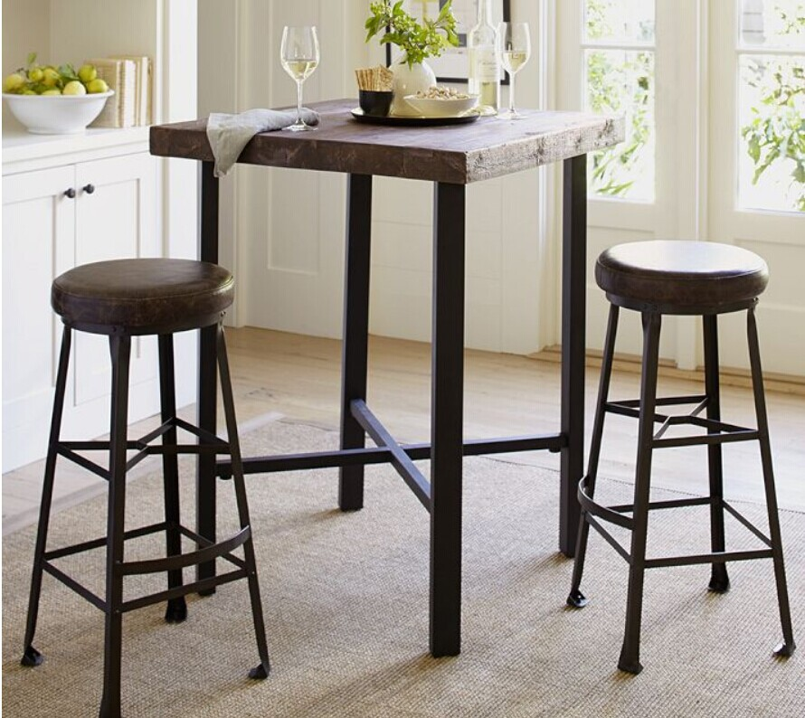 american country wrought iron wood vintage antique coffee bar dinette dinette table and chairs. Black Bedroom Furniture Sets. Home Design Ideas