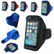 Sport Armband Arm Band Belt Cover Waterproof Running GYM Bag Case Pouch For Apple iPhone 4.7inch 6 6S with Key Holder Slot