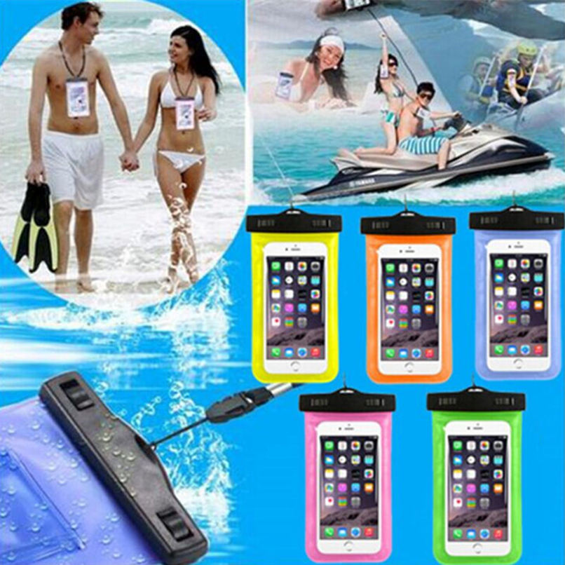 New Clear Waterproof Pouch Dry Case Cover For Microsoft Nokia Lumia 640 Mobile Phone Waterproof Bag For Nokia 640 Swimming Case(China (Mainland))