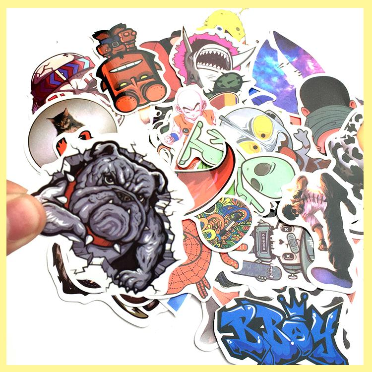 Car Styling Sticker Bomb Doodle Stickers Car Covers Skateboard Graffiti Snowboard Motorcycle Bicycle Luggage Bags Accessories()
