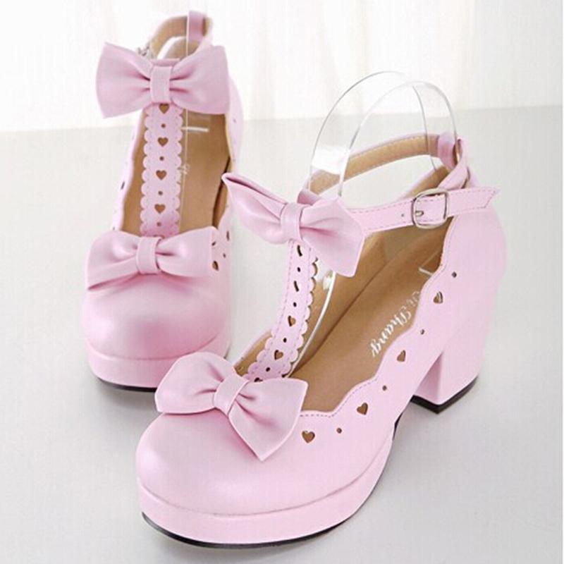 high heels lolita