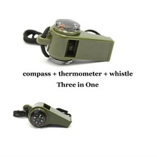Buy 3-in-1 Survival Whistle Compass Thermometer Lightweight multipurpose whistle Camping Hiking Outdoor Safety Tool for $2.26 in AliExpress store