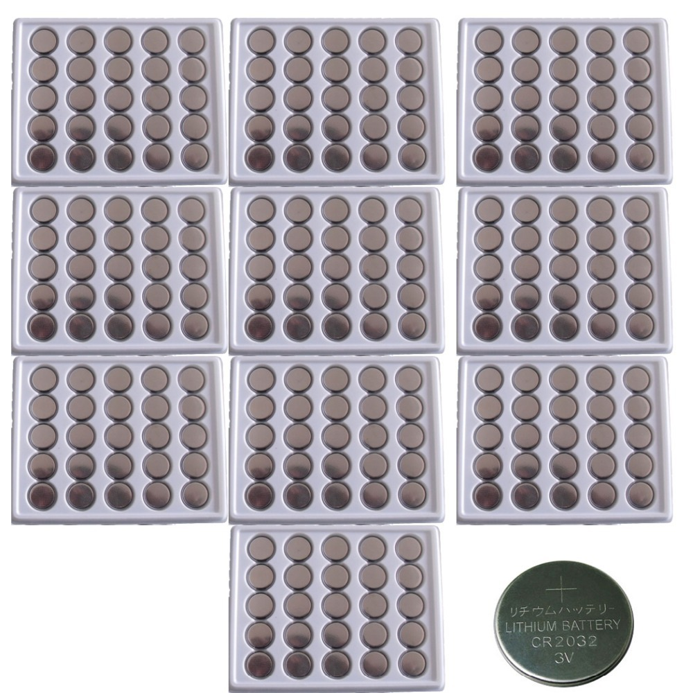 250pcs in Bulk CR2032 3V/210mAh Lithium Button Coin Battery For Watches,Calculator etc(China (Mainland))