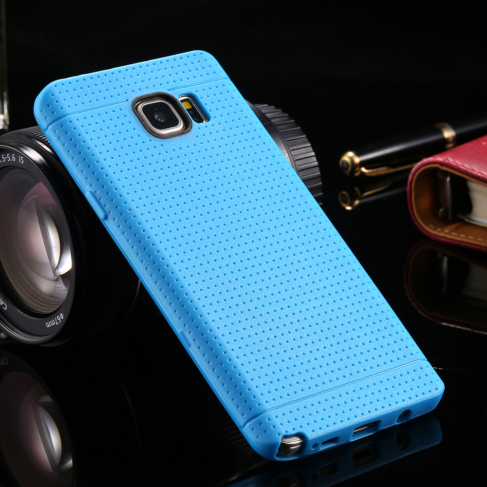 Wholesale For Galaxy Note 5 New Soft Candy Color Thin Cover for Samsung Galaxy Note5 Soft Silicon TPU Back Case DHL 100pcs/lot
