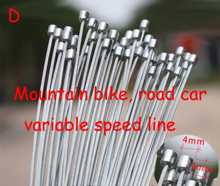 Road bike MTB Bike Fixed Gear Bicycle Brake Line Shift Shifter Gear Brake Cable Sets Core