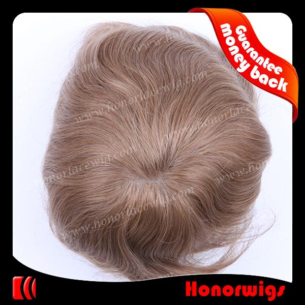 100% human hair pu-skin toupee,mono lace wig men toupee<br><br>Aliexpress