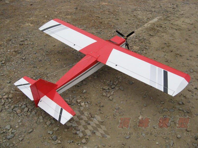 Peakmodel 26-35CC Fuel Fixed Wing Plane Frame kit Training Airplane RC Drone(China (Mainland))