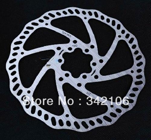 Free Shipping!!! 7-inch disc brakes Brake Pad 180MM DH mountain bike cross-country disc(China (Mainland))