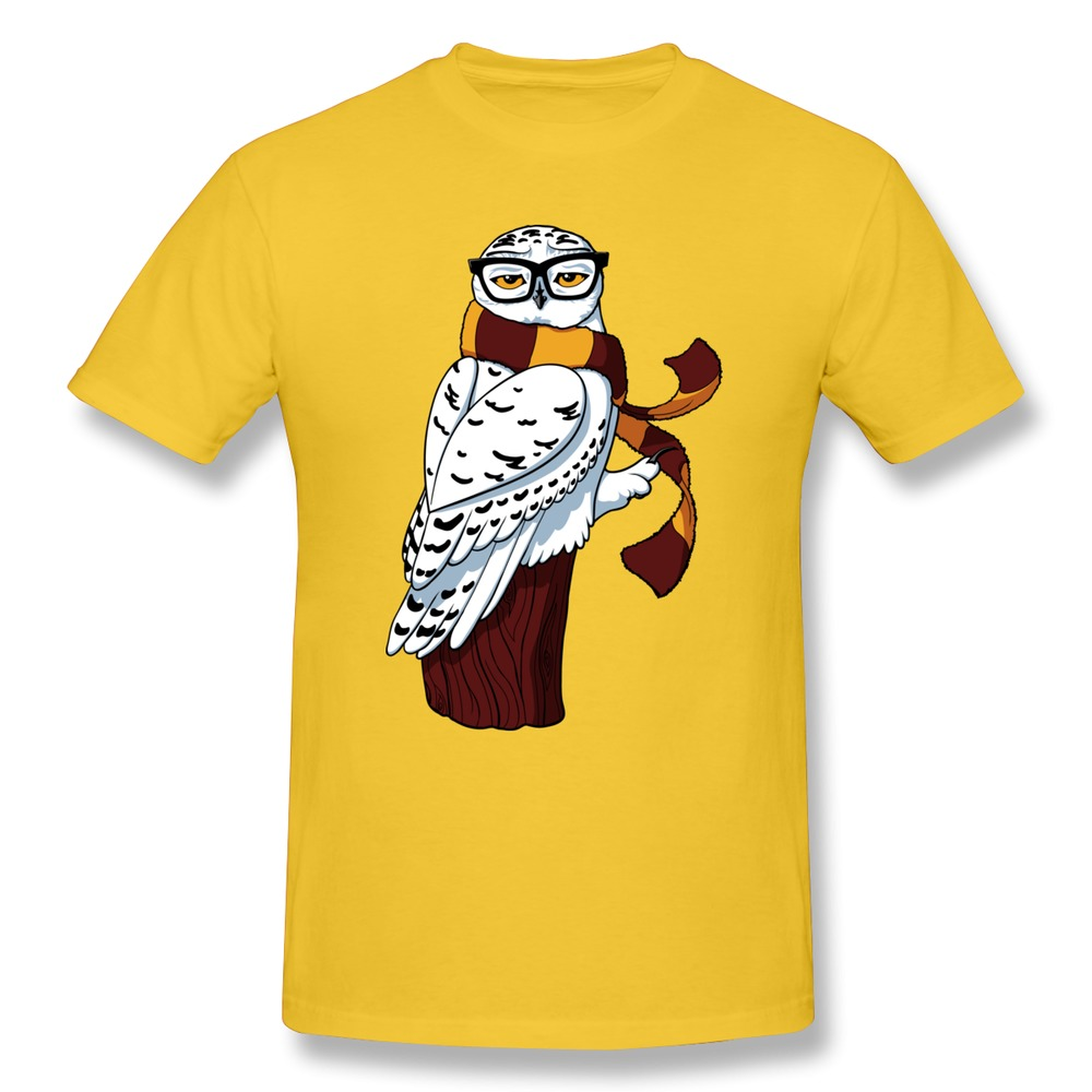 Cute new coming hipster owl men t shirt screw neck top New designer t shirts