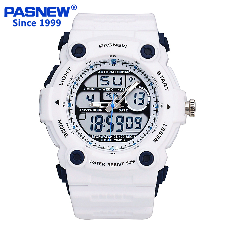 Hot Sale Relojes Hombre Pasnew Super Diving 50 meters Waterproof Electronic Led Outside Sport Watches Men Reloj Army Hombre<br><br>Aliexpress