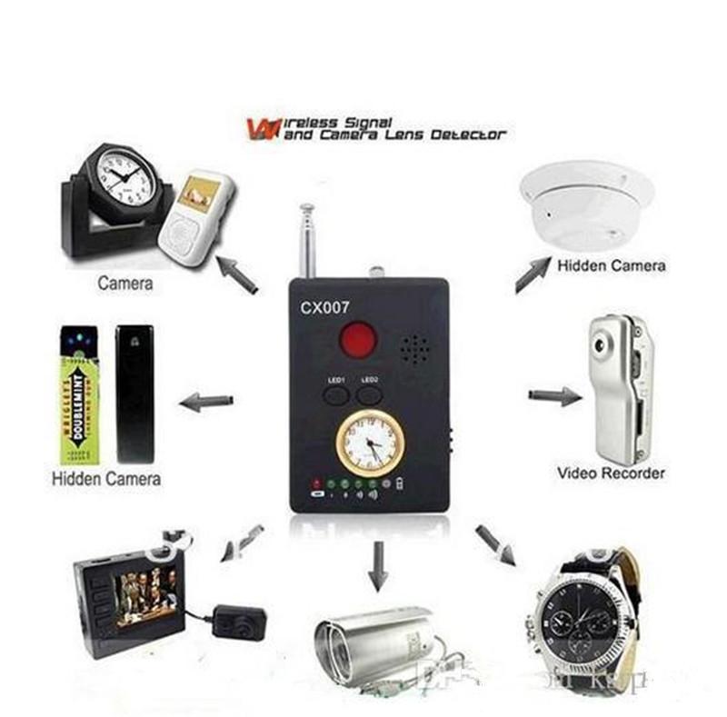 CX007 Multi-function RF Signal Camera Phone GSM GPS WiFi Bug Spy Detector 6