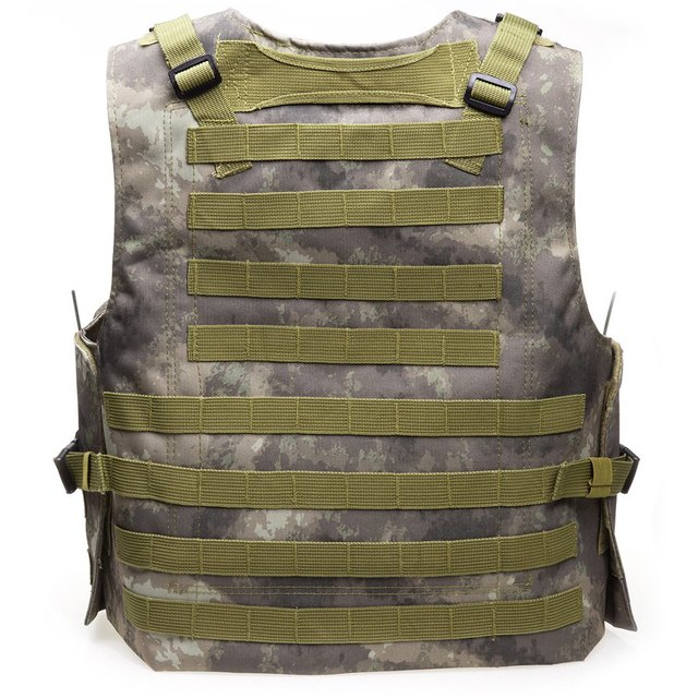 Camouflage Hunting Military Tactical Vest Wargame Body Molle Armor  Hunting Vest CS Outdoor Equipment with 7 Colors