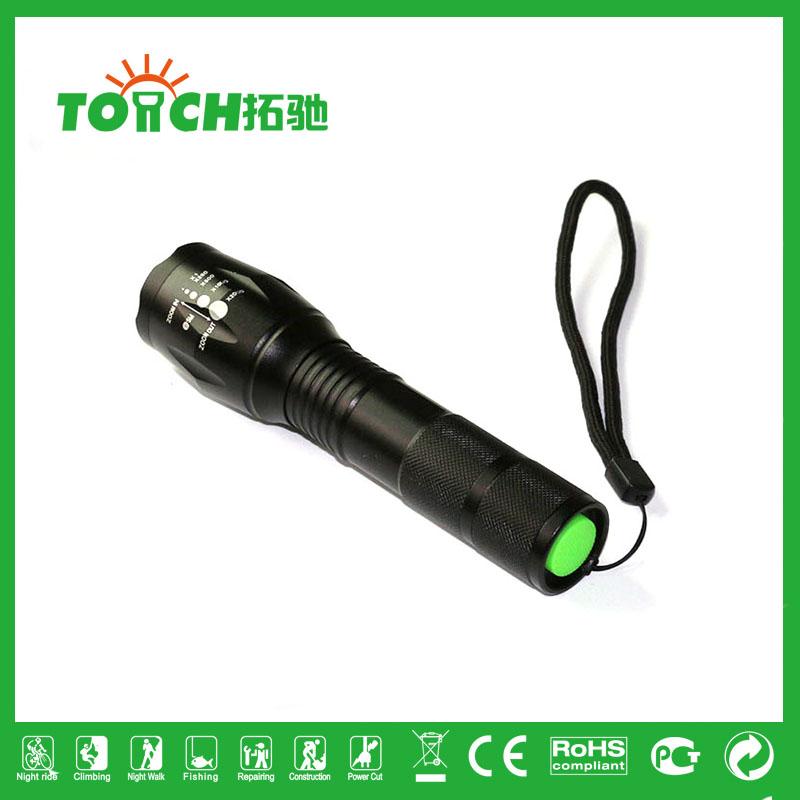 XML-T6 LED Flashlight 3800 Lumens Army Tactical flash light lanterna tatica defensa personal professional outdoor lighting 8060(China (Mainland))