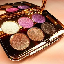 Hot Sale 6 Colors Eye shadow New Arrival Natural Radiant Brighten Cosmetic Lasting Makeup Eyeshadow Easy to Wear 2 patterns D131