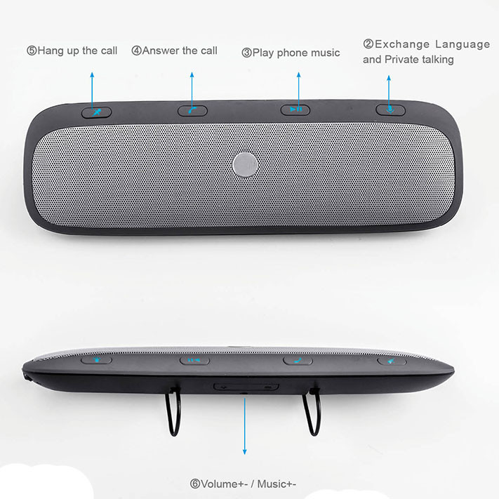 Motorola Roadster Pro TZ900 Bluetooth Car Speakerphone
