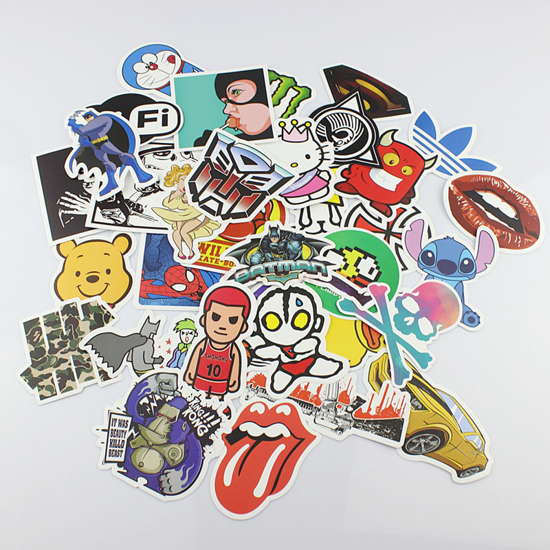 Wholesale Skateboard Stickers Skateboard Stickers
