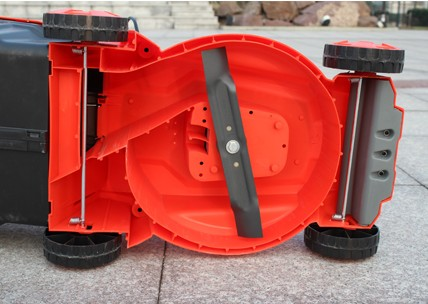 2012 household electric lawn mower 1200W villa weeding grass trimmer blade Forestry equipment(China (Mainland))