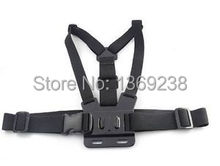 Discount Wholesale  Adjustable Chest Body Harness Belt Strap Mount For Gopro HD Hero 1 2 3 3+ Camera Photo Studio Accessories