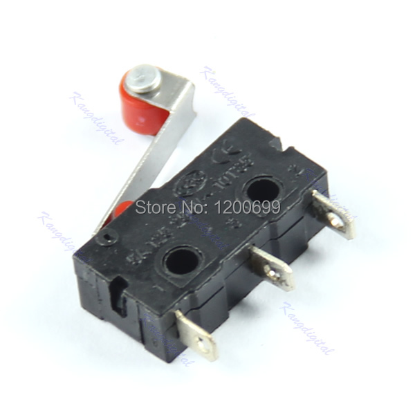 F98 hot -selling New 2015 20pcs/lot New Micro Roller Lever Arm Normally Open Close Limit Switch KW12-3 free shipping(China (Mainland))