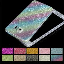 Fashion Glitter Sticker Front Back Cover Samsung Galaxy A3 A5 A7 J3 J5 J7 2016 Grand Prime Case S5 S6 S7 Edge - Shenzhen Ali-Family Trading Co.,Ltd store