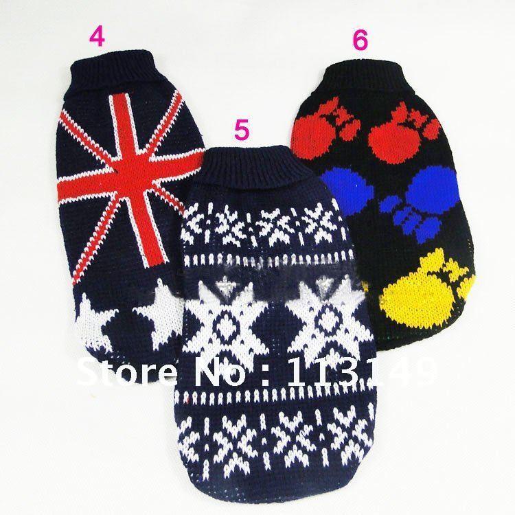 Xl Dog Sweater Knitting Pattern : Aliexpress buy free shipping winter puppy doggie dog