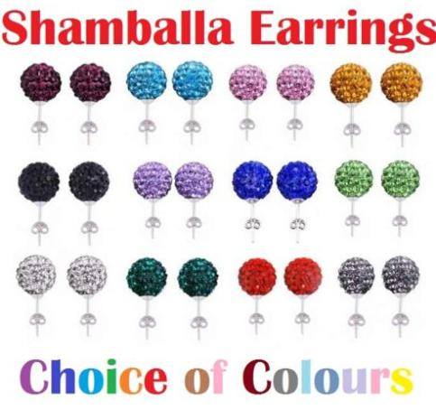 10mm Clay Mixed Multicolor white Black best Crystal Micro Pave Disco Ball Silver Plated Shamballa Earrings Stud for women(China (Mainland))