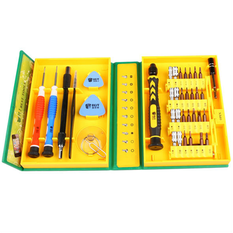 38 In 1 Repair Tools Kit / Precision Screwdriver Set For Iphone Ipad HTC Cell Phone Tablet PC PSP WXSJT025(China (Mainland))