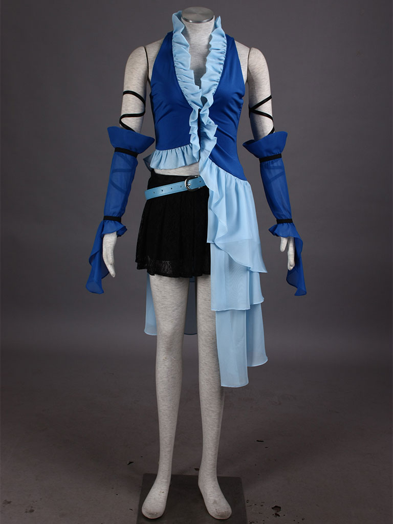 Final Fantasy X 10 Rinoa Adult Girls Dresses Cosplay CostumeОдежда и ак�е��уары<br><br><br>Aliexpress
