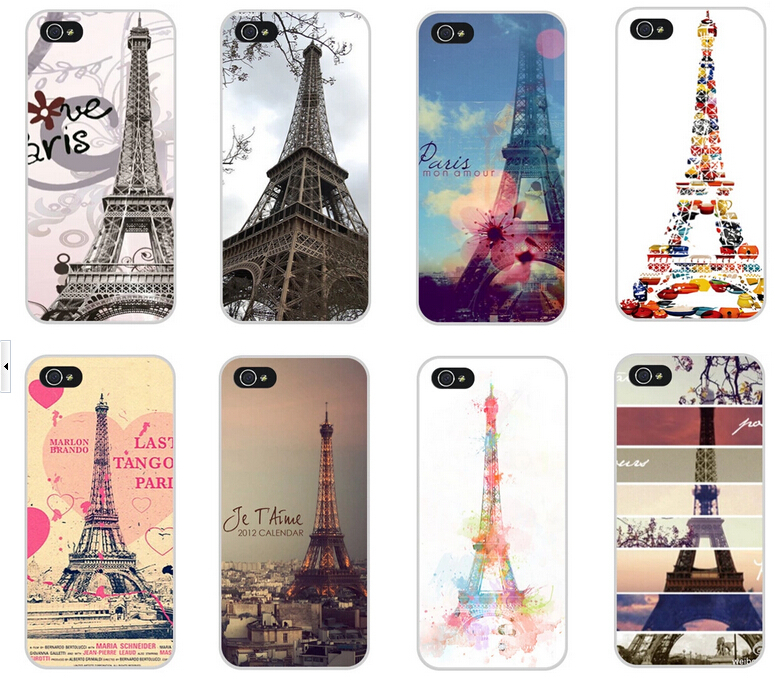 2015 Fashion Painted Eiffel Tower Design Case Cover Apple phone iPhone 4 4S 4G 5 5G 5S - Shenzhen CY group co., LTD store