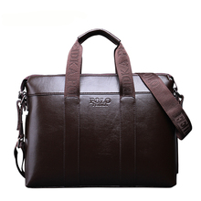Men PU Leather Bags Business Man Laptop Tote Bag Men's Crossbody Shoulder Bag Men's Messenger Travel Bags Man Briefcases