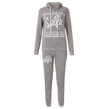 Women Suit Casual Sweatshirt Track & Sweat Tracksuit Long Sleeve Hoodie Playsuits - Du women clothes store