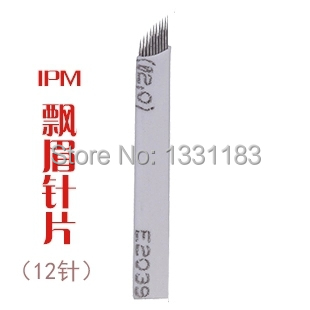 Stainless Steel Manual Pen Needle 7 Needles Permanent Makeup Blade For Eyebrow Permanent Makeup 50PCS free shipping<br><br>Aliexpress
