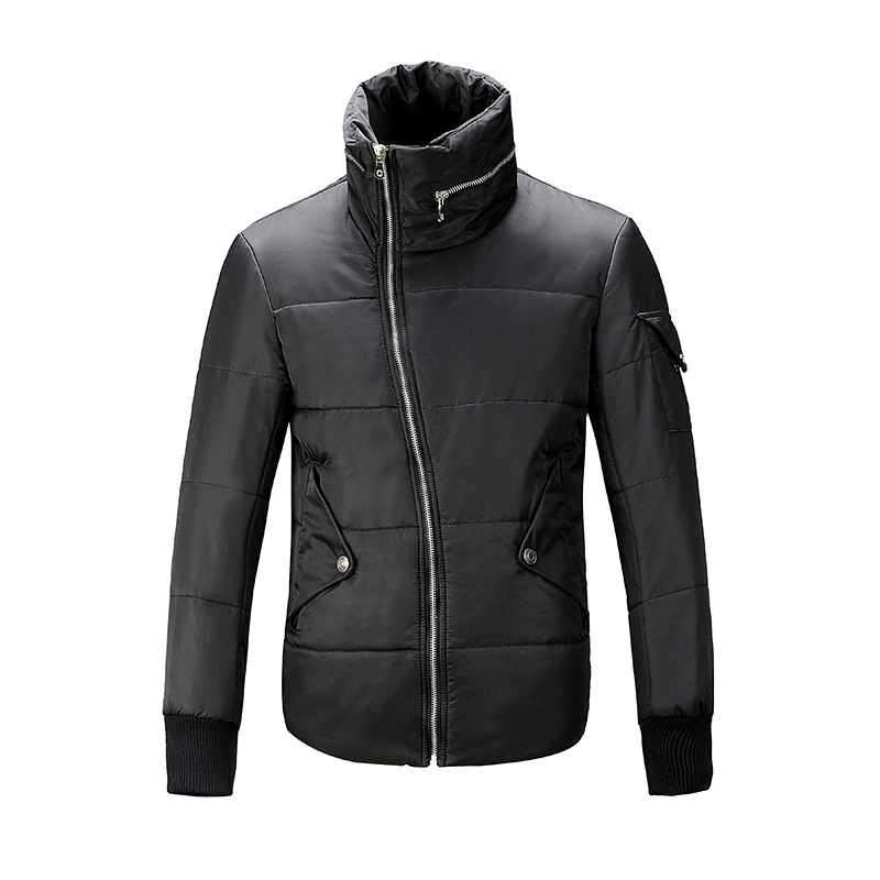 Top selling free shipping 2015 winter mens sport winter quilted jacke with asymmetrical zipper casual brand design man clothingОдежда и ак�е��уары<br><br><br>Aliexpress
